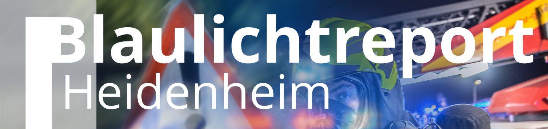 Blaulichtreport Heidenheim